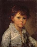 Jean-Baptiste Greuze Count P.A Stroganov as a Child oil